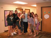 Our RA, Cody, did the best job of bonding our pod together. They made such a positive impact on my experience.